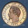 Coins 2e empire (1852-1870). 5 centimes, tête nue, 1853A