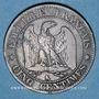 Coins 2e empire (1852-1870). 5 centimes, tête nue, 1853K. Bordeaux