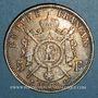 Coins 2e empire (1852-1870). 5 francs tête laurée 1868 BB. Strasbourg