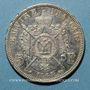 Coins 2e empire (1852-1870). 5 francs tête laurée 1868A