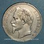 Coins 2e empire (1852-1870). 5 francs tête laurée 1870A