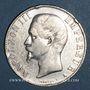 Coins 2e empire (1852-1870). 5 francs tête nue 1855A. Main / ancre