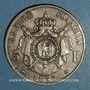 Coins 2e empire (1852-1870). 5 francs tête nue 1856 A