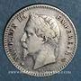 Coins 2e empire (1852-1870). 50 centimes tête laurée 1867A