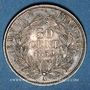 Coins 2e empire (1852-1870). 50 centimes tête nue 1859 A