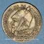 Coins 2e empire (1852-1870). Module de 5 centimes. Laiton argenté