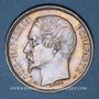 Coins 2e république (1848-1852). 1 franc Louis-Napoléon 1852A