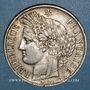 Coins 2e république (1848-1852). 5 francs Cérès 1849 A. Main et chien