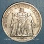 Coins 2e république (1848-1852). 5 francs Hercule 1848 A