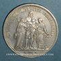 Coins 2e république (1848-1852). 5 francs Hercule 1848A
