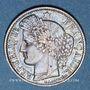 Coins 2e république (1848-1852). 50 centimes 1850 A