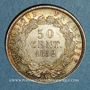 Coins 2e république (1848-1852). 50 centimes Louis-Napoléon 1852 A