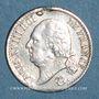 Coins 2e Restauration. Louis XVIII (1815-1824). 1/4 franc 1818A
