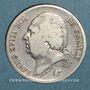Coins 2e restauration. Louis XVIII (1815-1824). 2 francs 1824A