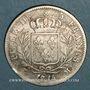 Coins 2e restauration. Louis XVIII (1815-1824). 5 francs 1814M. Toulouse