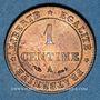 Coins 3e république (1870-1940). 1 centime Cérès 1884A