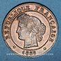 Coins 3e république (1870-1940). 1 centime Cérès 1886A