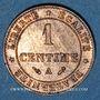Coins 3e république (1870-1940). 1 centime Cérès 1887A