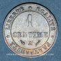 Coins 3e république (1870-1940). 1 centime Cérès 1889A