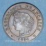 Coins 3e république (1870-1940). 1 centime Cérès 1894A
