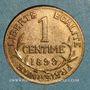 Coins 3e république (1870-1940). 1 centime Dupuis 1899