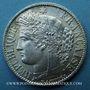 Coins 3e république (1870-1940). 1 franc Cérès, 1872A. Petit A