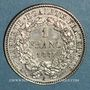 Coins 3e république (1870-1940). 1 franc Cérès 1887 A