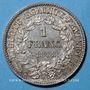 Coins 3e république (1870-1940). 1 franc Cérès, 1888A
