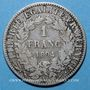 Coins 3e république (1870-1940). 1 franc Cérès, 1894A