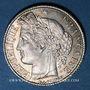 Coins 3e république (1870-1940). 1 franc Cérès, 1895A