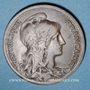 Coins 3e république (1870-1940). 10 centimes Dupuis, 1915