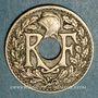 Coins 3e république (1870-1940). 10 centimes Lindauer 1924 Poissy