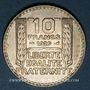 Coins 3e république (1870-1940). 10 francs Turin 1929