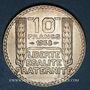 Coins 3e république (1870-1940). 10 francs Turin 1938