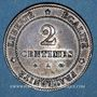 Coins 3e république (1870-1940). 2 centimes Cérès, 1879A. Petit A