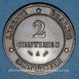Coins 3e république (1870-1940). 2 centimes Cérès 1884 A