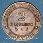 Coins 3e république (1870-1940). 2 centimes Cérès, 1886A