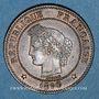 Coins 3e république (1870-1940). 2 centimes Cérès 1890 A