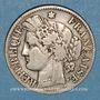 Coins 3e république (1870-1940). 2 francs Cérès, 1873A