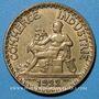 Coins 3e république (1870-1940). 2 francs Chambre de commerce 1922