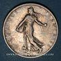 Coins 3e république (1870-1940). 2 francs Semeuse 1910