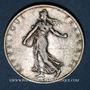 Coins 3e république (1870-1940). 2 francs Semeuse 1912