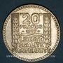 Coins 3e république (1870-1940). 20 francs Turin 1937