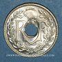 Coins 3e république (1870-1940). 25 centimes Lindauer 1938