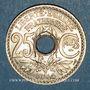Coins 3e république (1870-1940). 25 centimes Lindauer, type souligné, 1914