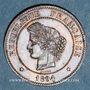 Coins 3e république (1870-1940). 5 centimes Cérès, 1894A