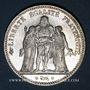 Coins 3e république (1870-1940). 5 francs Hercule, 1876A