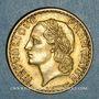 Coins 3e république (1870-1940). 5 francs Lavrillier bronze d'aluminium 1940