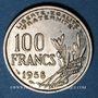 Coins 4e république (1947-1959). 100 francs Cochet 1958B