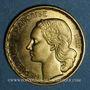 Coins 4e république (1947-1959). 20 francs Georges Guiraud 1950B, 3 faucilles
